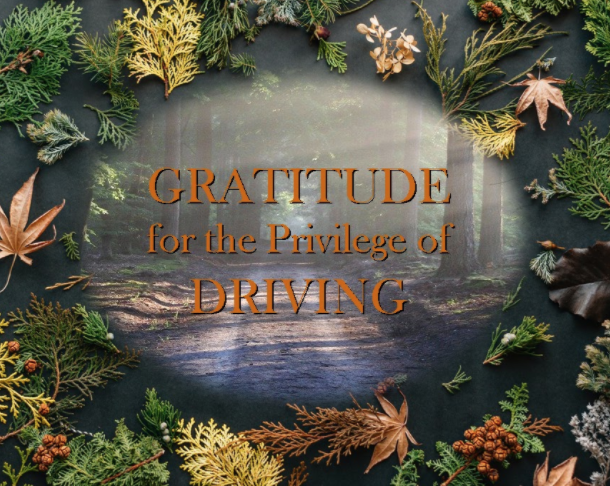 Gratitude for the Privilege of Driving